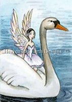 Diamond Painting Canvas - QS Fairy of Swan Lake