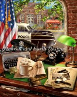 Hometown Hero Police Station Material Pack
