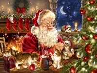Mini Kitten Christmas Material Pack