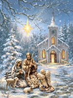 Nativity At The Chapel Material Pack