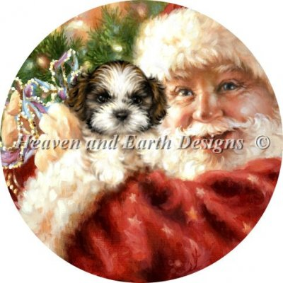 Ornament Shih Tzu For Christmas Material Pack