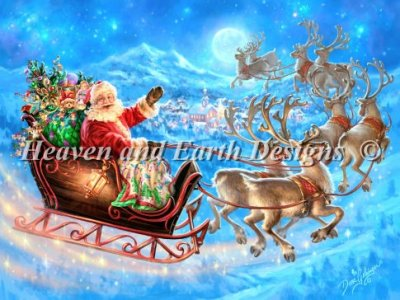 Santas Magical Flight