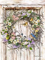 Spring Wreath DG