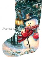 Stocking The Enchanted Christmas Snowman