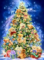 Teddy Bear Tree Max Colors