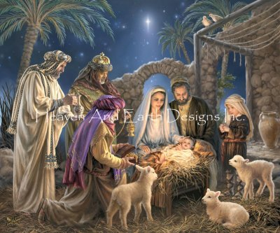 The Nativity Max Colors DG