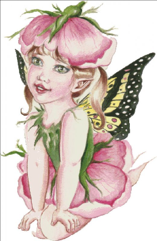 Baby Rose Fairy - Click Image to Close
