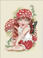 Baby Toadstool Fairy Material Pack