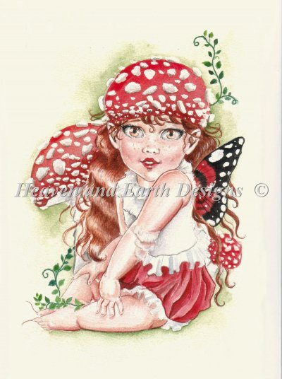 Baby Toadstool Fairy
