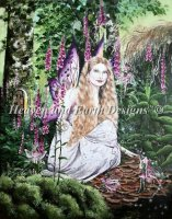 Hannah Titania and The Foxglove Fairies