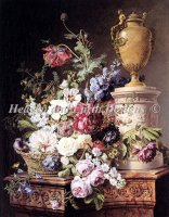 Still Life On Marble Pedestal Select A Size Max Color