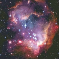 Supersized Small Magellanic Cloud Max Colors Material Pack