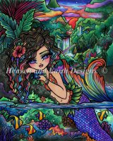 Maui Mermaid Material Pack