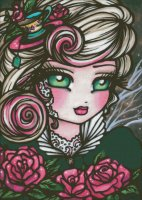Tea Rose Fairy Material Pack