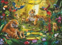Tiger Family In The Jungle MC