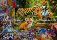 Tiger Painting Material Pack