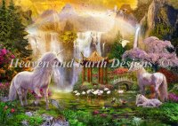 Unicorn Valley Of The Waterfalls Material Pack