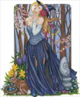 Spring Solstice Witch