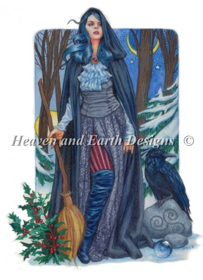 Winter Solstice Witch JSW