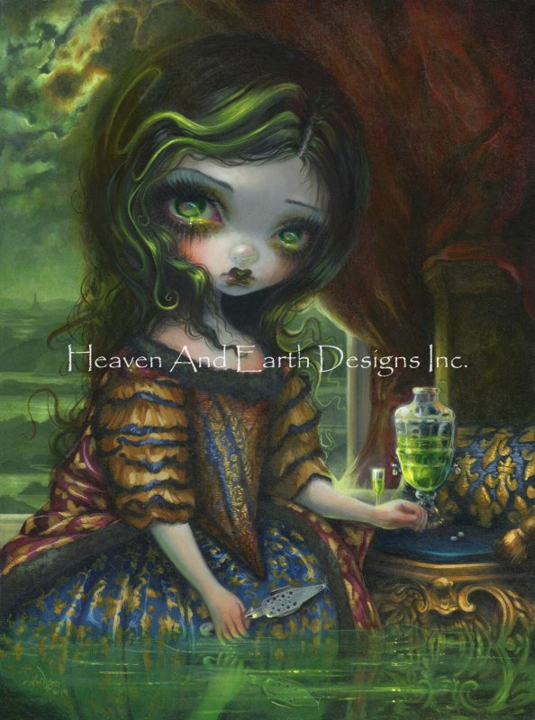 Absinthe Reflections - Click Image to Close