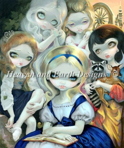 Alice And The Bougereau Princesses Material Pack