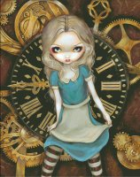 Alice In Clockwork Select A Size