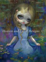 Alice In Monets Waterlilies