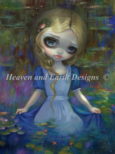 Alice In Monets Waterlilies Material Pack