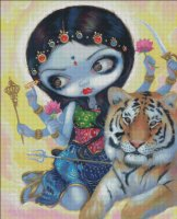 Durga and the Tiger
