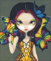 QS Fairy With a Butterfly Mask-Becket-Griffith