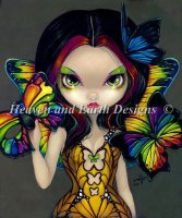 QS Fairy With A Butterfly Mask Material Pack