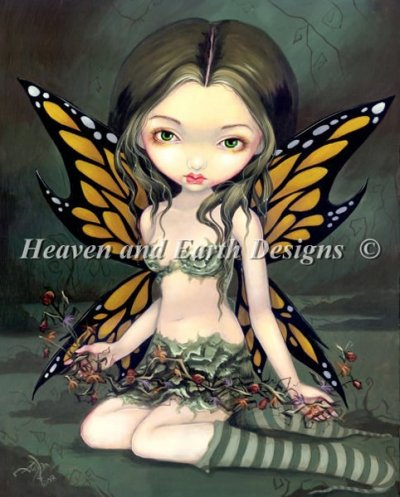 Fairy With Dried Flowers