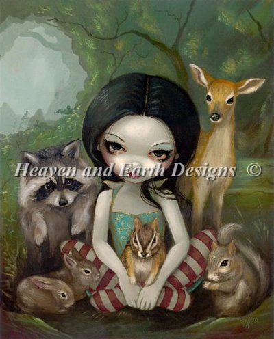 Snow White and Her Animal Friends