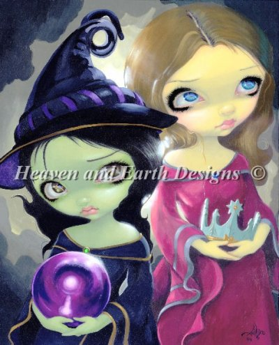Wicked Witch and Glinda Material Pack