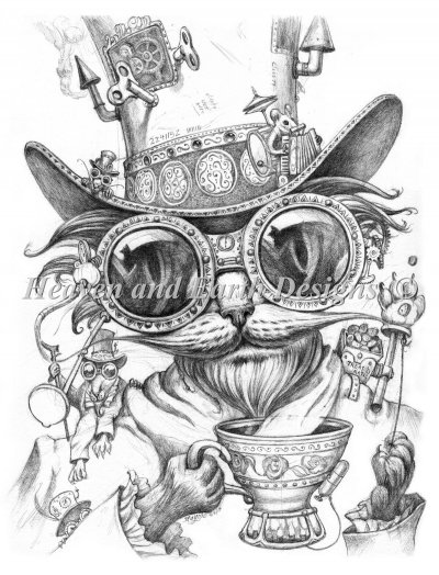 Steam Punk Cat Daddy Select A Size