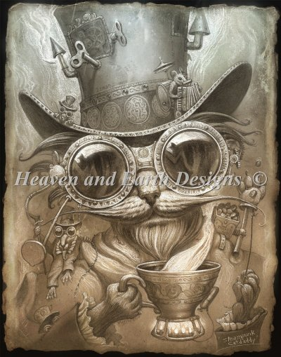 Steam Punk Cat Daddy Color