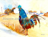 Rooster Farmyard