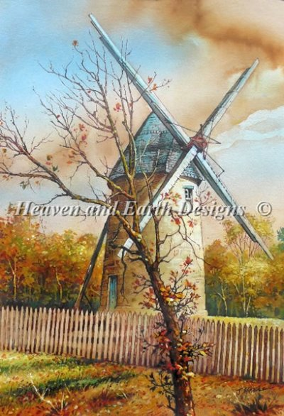 Windmill in Dordogne