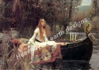 Lady Of Shalott Material Pack