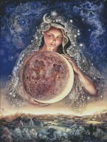 Supersized Moon Goddess