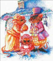 Cratchit Christmas Mouse
