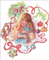 Little Girls Christmas Material Pack