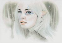 Elven Snow Queen