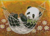 Hammock Panda Yellow