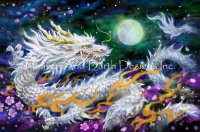White Dragon And The Moon