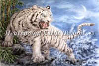 White Tiger And The Waves