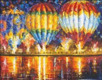 Balloon Reflections Max Colors