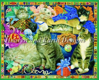 Cats With All The Presents