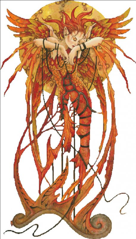 Phoenix Rising NO Background - Click Image to Close