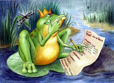 The Frog Princes Plan